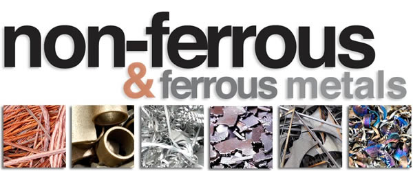 non-ferrous and ferrous metals